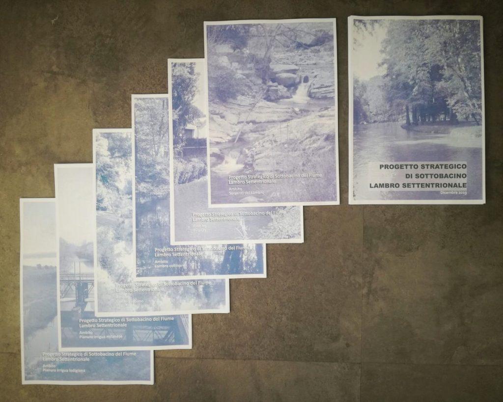 Copertine dei Quaderni che compongono il PSS Lambro